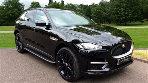 jaguar f pace black used jaguar f pace black cars for sale motorparks