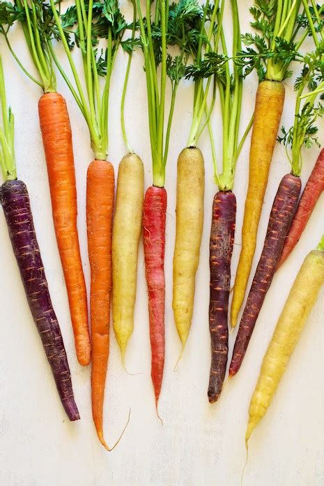 colored carrots roasted rainbow carrots two ways sweet savory marla