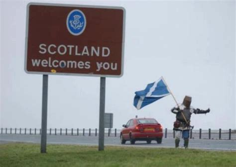 Scotland Meme - welcome to scotland meme guy