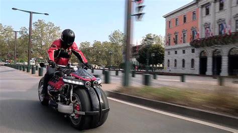 lazareth lm 847 price lm847 lazareth v8 engine powered motorcycle test