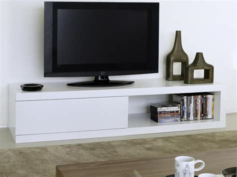 modern tv units temahome atoll storage tv stand in pure white