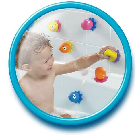 bathtub toy net octopal squirters water pouring bath toy educational
