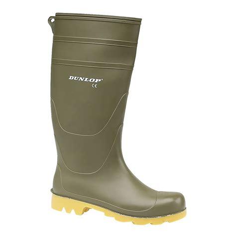 mens wellington boots dunlop universal pvc welly mens wellington boots