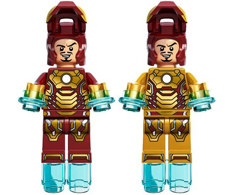 Lego Lele Iron 45 Bootleg Did Anyone Else Think The Iron Mk 42 Minifig Should