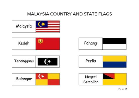 Malaysian Search Malaysia Flag Free Colouring Pages