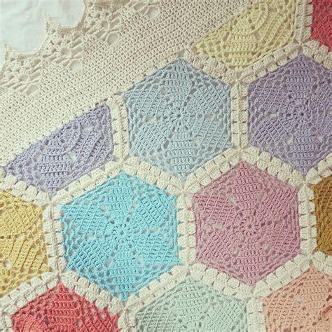 pattern crochet throw byhaafner crochet the hexagon blanket is ready