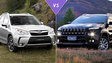 subaru forester xt off road jeep cherokee vs subaru forester 2017 ototrends net