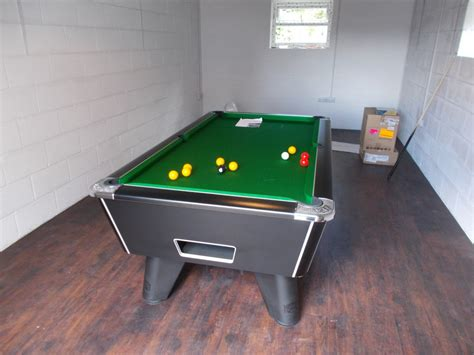ex rental supreme coin operated 7 215 4 pool table s sold by
