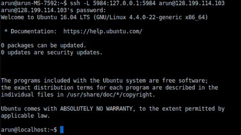 ssh tunneling how to install couchdb and futon on ubuntu 16 04