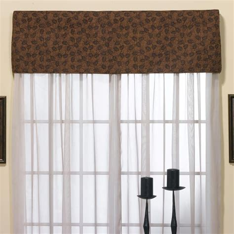 pine curtain pine border curtain valance table runner 15 quot x 56 quot