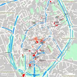 map of best locations bruges top tourist attractions map