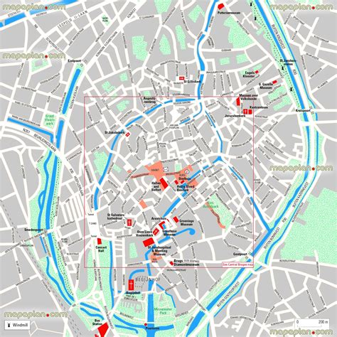 printable map brussels brugge tourist map bruges maps top tourist attractions