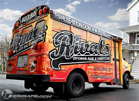 Wall Murals For Sale rivals school bus wrap idwraps com blog