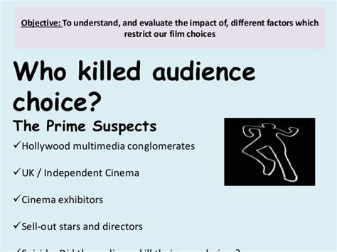 fm2 section a the murder of audience choice