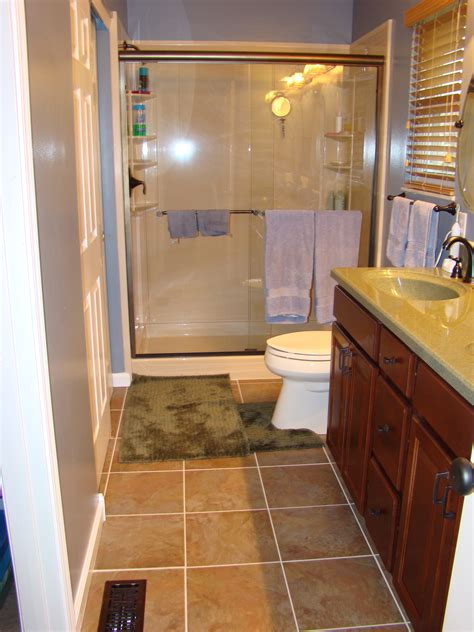 Finished Bathroom Ideas Awesome 40 Pictures Of Finished Bathrooms Inspiration Of Basement Bathroomsfinished Basements