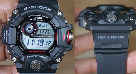 Band And Bezel Gshock Rangeman Gw 9400 Clear Smoke Black casio g shock rangeman gw 9400 1 indowatch co id