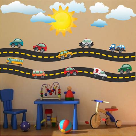 Cars Wall Decals by Race Car Decal Sports Wall Decal Murals Race Track