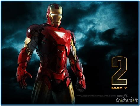 iron man wallpaper for macbook iron man 2 screensaver mac download free