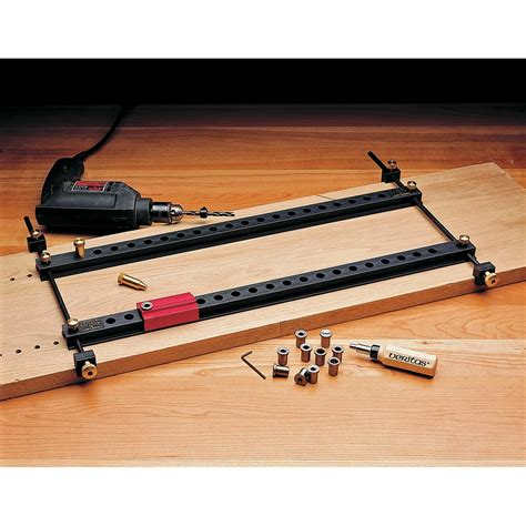 Shelf Drilling by Veritas Shelf Drilling Jig Drill Guides Drilling Jigs