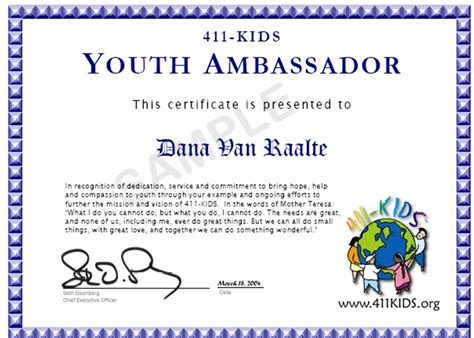 volunteer certificate template exles of volunteer certificates pictures to pin on