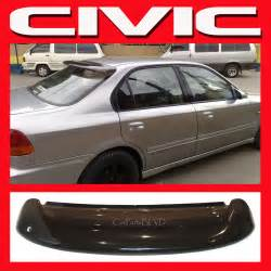 jdm 1997 civic ek 4 door sedan rear roof window visor with