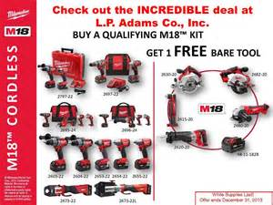 Home Hardware Interior Doors milwaukee tool sale at l p adams co inc l offer ends