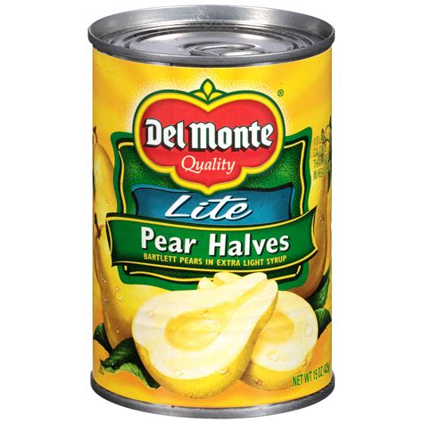 Wilmond Halves In Syrup Canned upc 024000167273 lite bartlett halves in light syrup pears 15 oz can upcitemdb