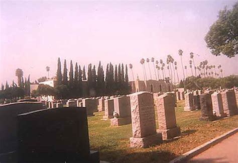 photograph of home of peace cemetery los angeles county