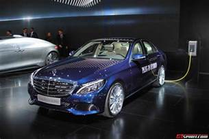 In Mercedes Detroit 2015 Mercedes C350 In Hybrid Gtspirit