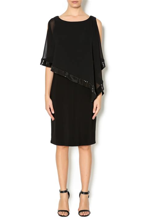 Sale Dress Import 6392 Black frank lyman black cocktail dress from canada by cheeky