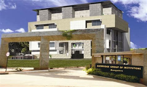 Pioneer College Indore Mba Fees Structure by Oxbridge Business School Bangalore Obs Bangalore Mba Fees