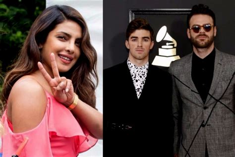 priyanka chopra and chainsmokers the chainsmokers we want to respond in a bollywood movie
