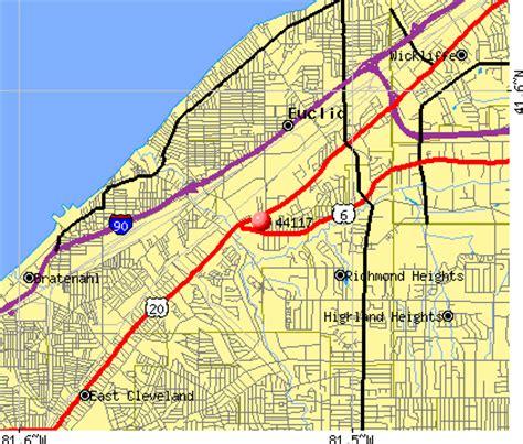 map of euclid ohio 44117 zip code euclid ohio profile homes apartments