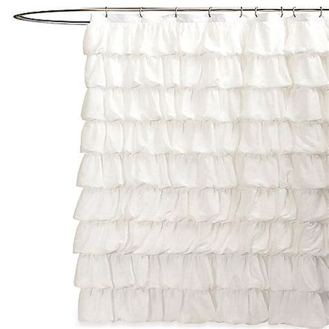 ruched shower curtain 17 best images about bathroom on pinterest lace shower