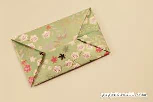 Origami heart envelope design tutorial and instructions quick and