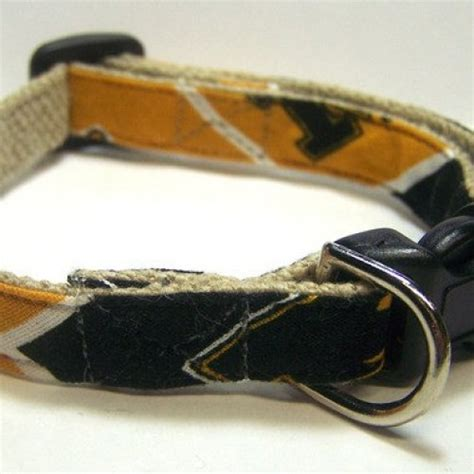 hemp collars handmade hemp collar mini size of missouri mizzou