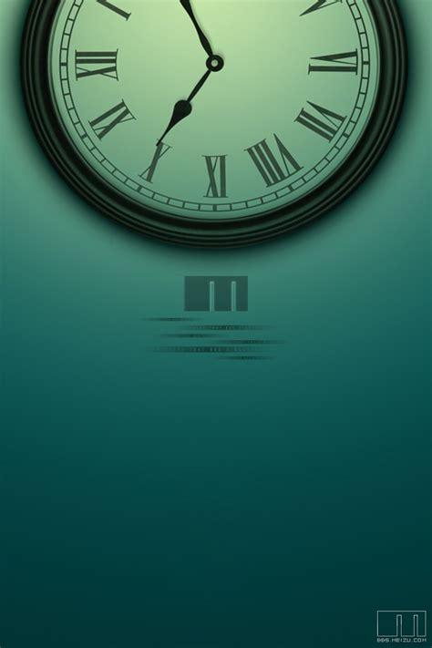themes clock iphone clock wallpaper for iphone wallpapersafari