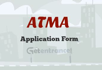 Atma Mba Entrance Date by Atma 2017 Application Form Getentrance