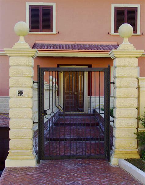 Colonne In Cemento Armato by Pilastri In Cemento Per Cancelli 52b