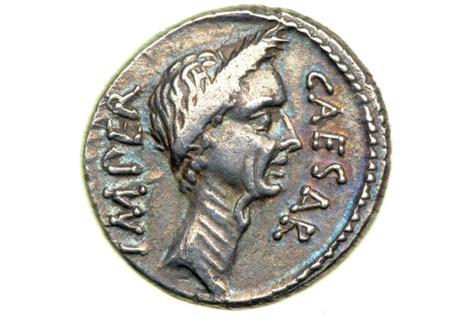 2. Julius Caesar Denarius (44 BC)   Splendid Time News