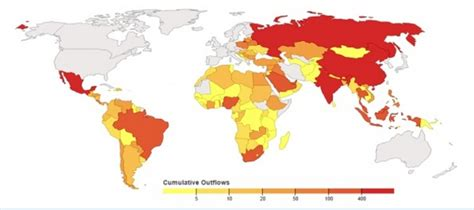 most corrupt countries in the world map china india and russia among most corrupt developing