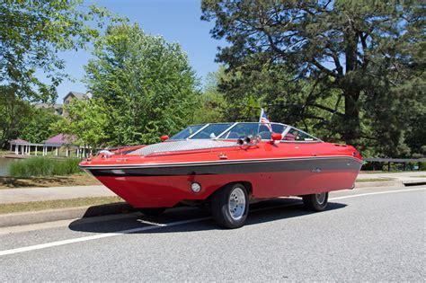 boat made into car can innovative transportation tools from ordinary folk