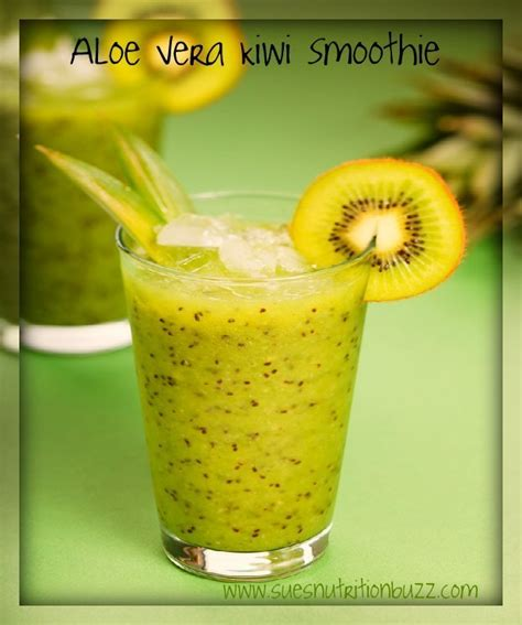 Kiwi Detox Smoothie by The Ultimate Guide To Losing Weight With Aloe Vera Juice