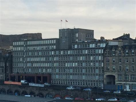 view from our room picture of jurys inn edinburgh