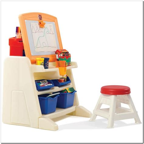 step 2 desk and stool step2 flip and doodle easel desk with stool canada