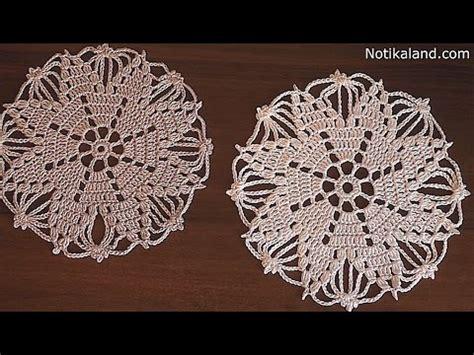 youtube doily pattern crochet doily snowflake tutorial part 2 сrochet сhristmas