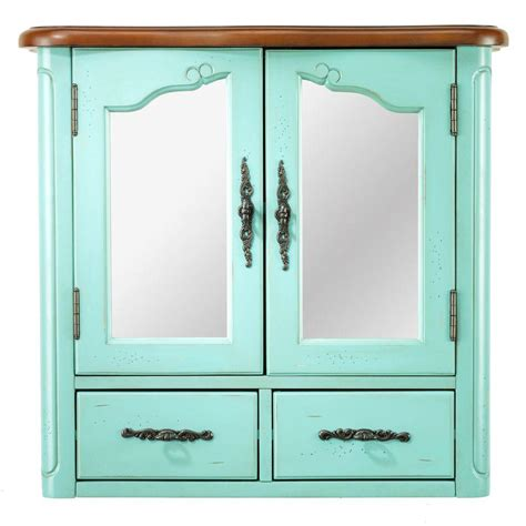 Home Decorators Collection Home Depot Home Decorators Collection Provence 24 In W X 23 In H X 8 In D Bathroom Storage Wall Cabinet
