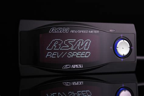Meter Rsm Apexi Rev Speed Meter Gp Rsm Black Zhapalang E Autoparts