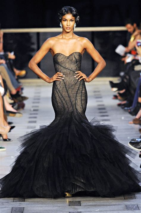 Catwalk To Carpet Bilson In Zac Posen by Zac Posen Haute Couture Ss2012 If I Could Walk A