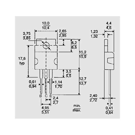 Sparepart Elektronik Bd 242 10pcs bd 242 b leistungstransistoren elpro elektronik